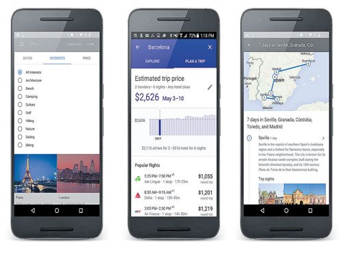 Your next vacation via Google's 'travel agent'