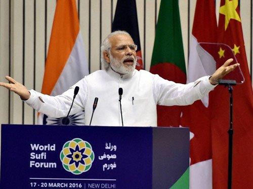Modi hails Islam, calls it great religion