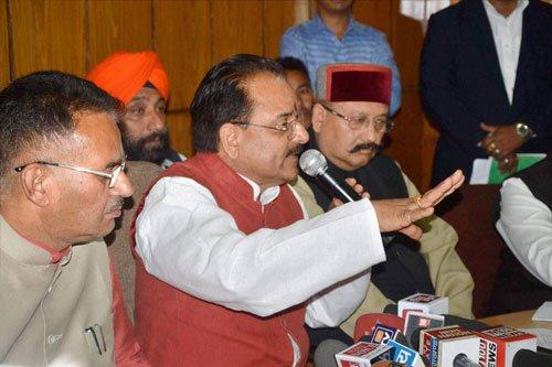 Ready to present MLAs before Prez, says BJP
