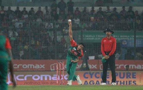 ICC suspends Bangladesh bowlers Taskin, Sunny