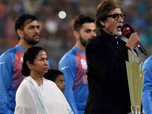 Bachchan accused of stretching national anthem