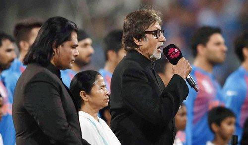 Plaint against Amitabh over National Anthem