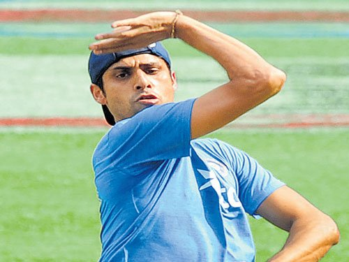 Age a number for pacer Nehra.