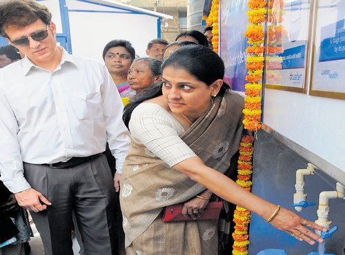 'Be innovative in water management'