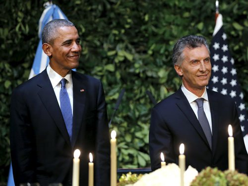 Obama addresses US role in Argentina's 'dirty war'