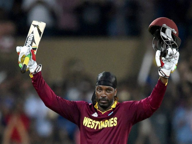 Gayle back to opening slot against South Africa