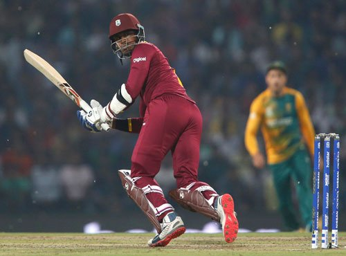 West Indies beat South Africa by 3 wickets, enter semi-final