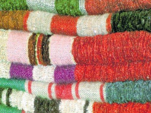 Colourful folds of elegance & comfort