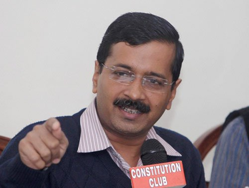 BJP, RSS want to impose Prez rule across India: Kejriwal