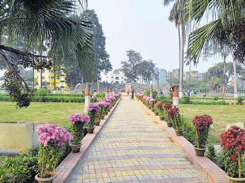 Breathing life into century-old park  in Bihar capital