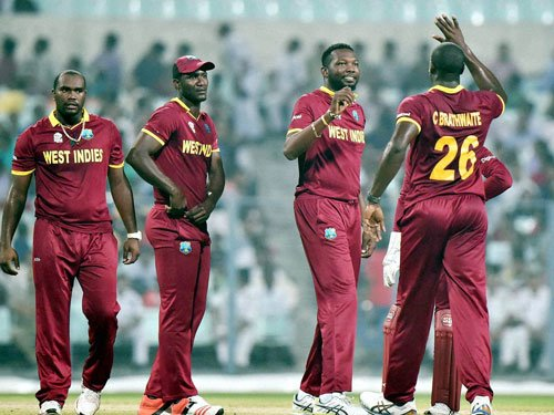 Windies spurred by Nicholas' 'short of brains' comment