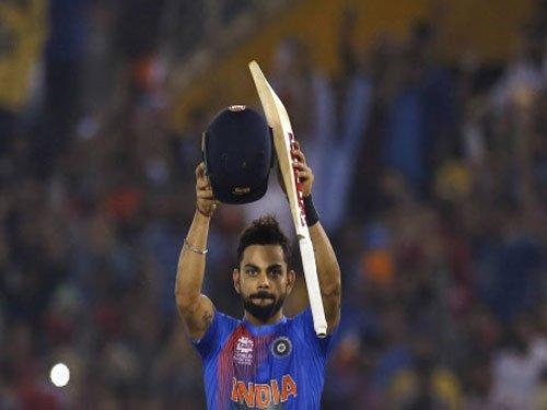 Kohli named captain of ICC World T20 XI, no place for Dhoni