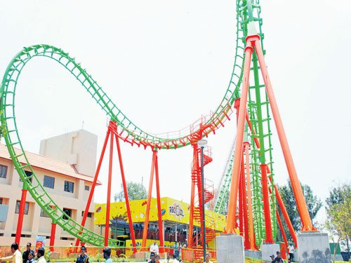 The ultimate thrills & spills with Wonderla's Recoil