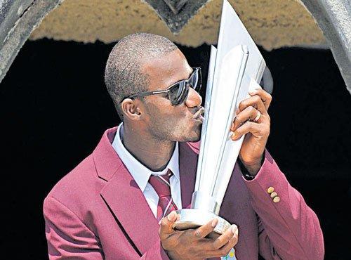 Ground honour for West Indies captain Sammy