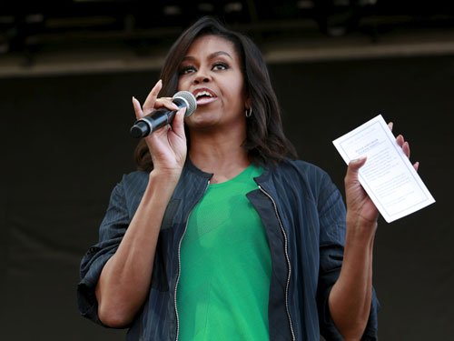 Michelle hopes successors will keep her kitchen garden in WH