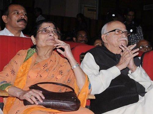 L K Advani's wife, Kamla, 83, passes away