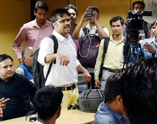 Attacker called BJP leader before attacking: Kapil Mishra