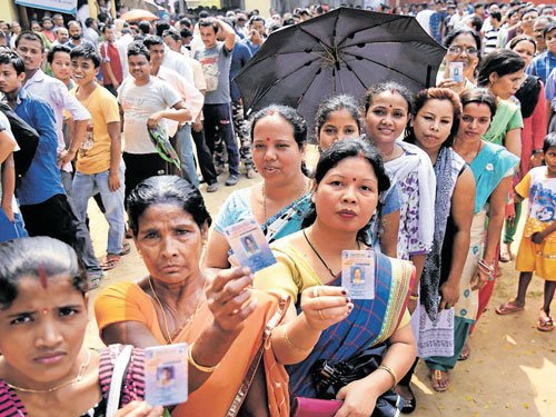 82% turnout in Assam final phase
