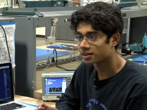 16-yr-old Indian-American student invents low-cost hearing aid