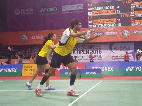 Pranaav-Sikki reach main draw of Singapore Open