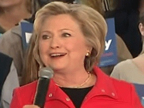Clinton criticised for 'cringeworthy' racist joke