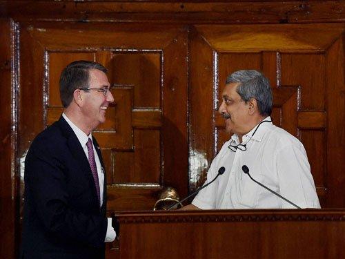 India, US  to  share military logistics