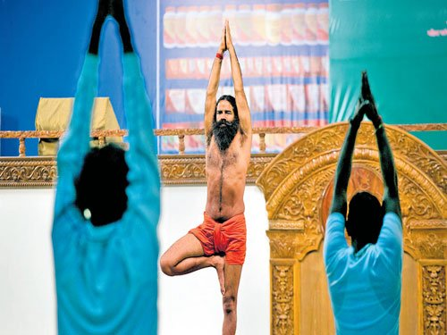 Baba Ramdev stretches out an empire