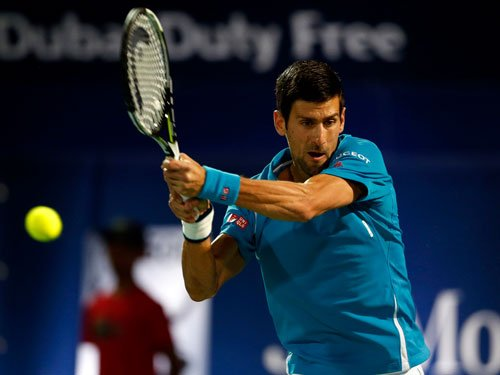 Champ Djokovic goes down to Vesely