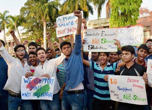 1,500 non-local NIT students leave Srinagar campus