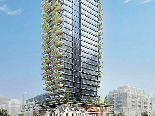 One for Yorkville's first 'vertical forest'