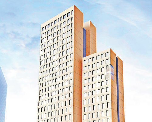 The world's tallest wooden high-rise