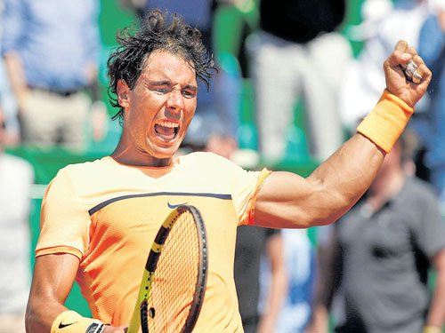 Nadal back on song