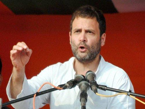 Rahul slams SAD-BJP govt over drug menace, farm crisis