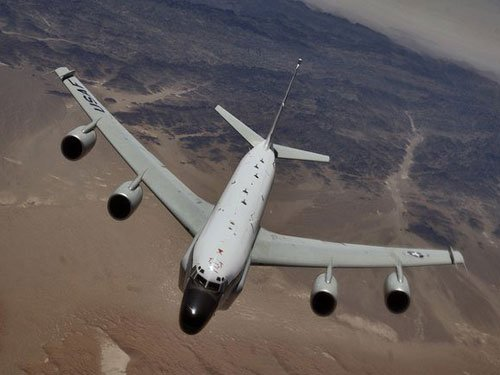 Another close call as Russian jet maneuvers close to US spy plane