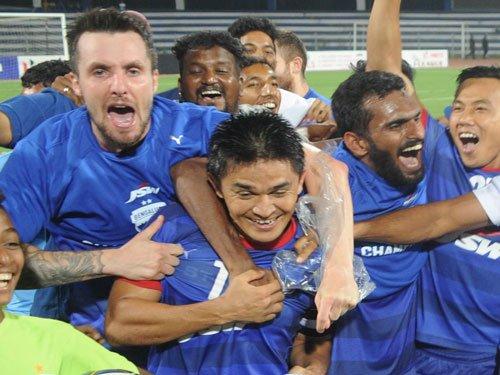 Bengaluru FC crowned I-League champions