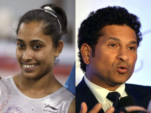 Dipa will inspire young Indians with her achievement:Tendulkar