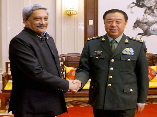 Parrikar raises JeM chief issue with Chinese counterpart