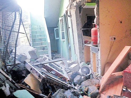 Three killed, 11 injured in cooking gas cylinder explosion