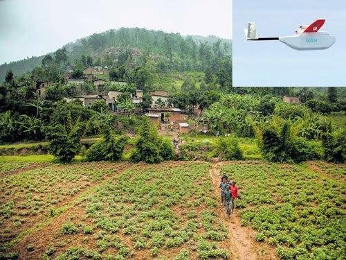 In Rwanda, drones on a mission of mercy
