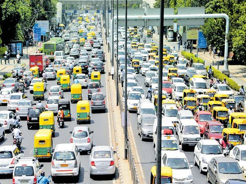 Odd-even eases traffic in City
