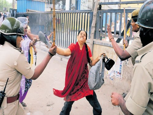 Stir brings shortage of women police to the fore