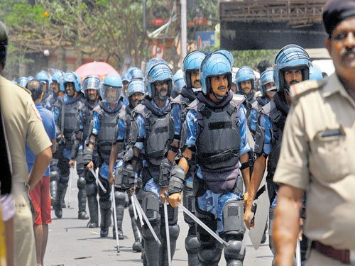 Security beefed at garment units