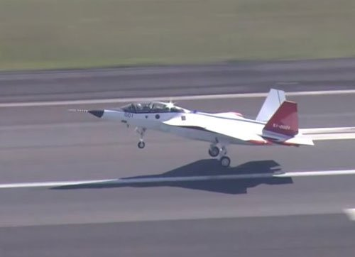 Japan succeeds in test flight of first stealth fighter jet