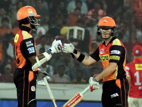 Sunrisers thrash Punjab by five wickets in IPL-9