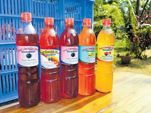 Fruit juice made in Northeast creates buzz