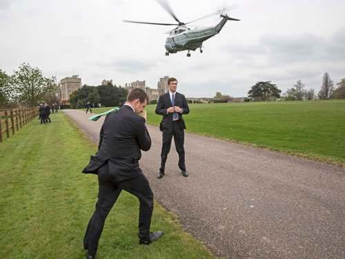 Queen banned Obama's choppers from landing on Windsor lawns