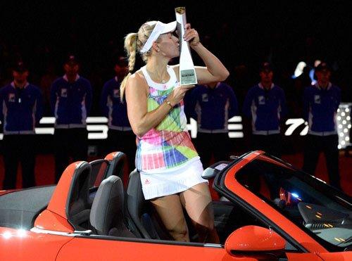 Kerber emerges champ