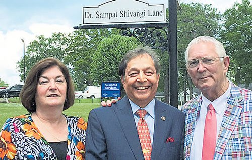 Street in United States named after Manipal alumnus