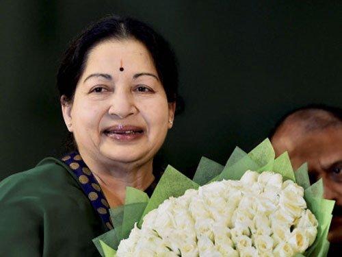 Jaya in chopper, movie stars hop vans, Ministers trek