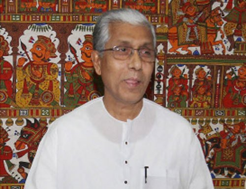 Condition of Left parties like third child of a goat: Tripura CM